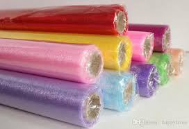 spools of tulle tulle roll spool tutu wedding party gift wrap fabric craft