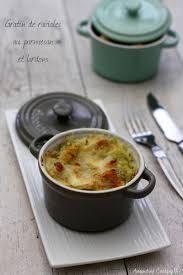 cuisiner les ravioles gratin de ravioles au parmesan et lardons amandine cooking