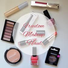freedom makeup haul u0026 first impressions rachwat