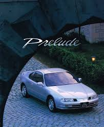 honda prelude mk4 japan brochure 1994 honda prelude honda and cars