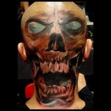 head tattoo u2013 gorgeous head skull design tattooshunter com