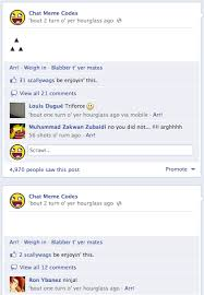 Facebook Chat Meme Codes - how to triforce and post blank status updates on facebook the