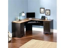 Wood Computer Desks For Home Office Desk Amazing Wood Corner Desk With Drawers 25 Cool Oak Corner