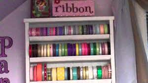 ribbon holders thrifty crafter tip 7 make your own ribbon rack
