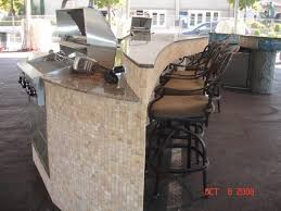 outdoor kitchens tampa fl glittering outdoor kitchen counter materials from stone veneer and