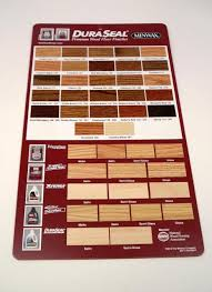 dura seal stain color hanging display board each chicago
