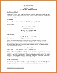 social work resume example adoptions social worker job seeking