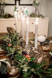 candle centerpiece how to make a candle centerpiece from a salvaged log hgtv