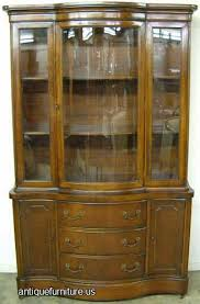 curved glass china cabinet elegant classy idea curved glass china cabinet oak curio cabinets