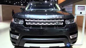 car range rover 2016 2016 range rover sport hse exterior and interior walkaround