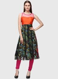 Latest Floral Prints Fashion Anarkali Suits Designs For Girls