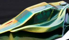 gold green color shifting changing paint spaz stix super g r