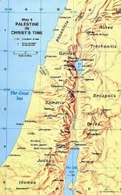 Gennesaret Map Mark Gospel Mark Gospel Religion Assessment 2012