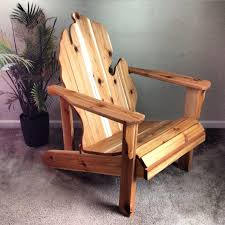 Rustic Outdoor Furniture by Ohio Adirondack Chair Handmade Wood Furniture Rustic Cedar