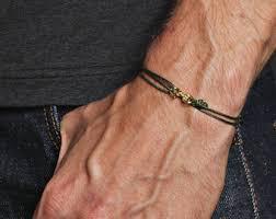 gold cord bracelet images Cord gold bracelet etsy jpg