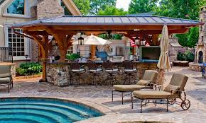 garden kitchen ideas stunning outdoor garden kitchen design by the pool laredoreads