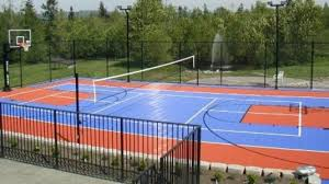 Backyard Tennis Courts by Sport Courts