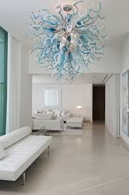 Glass Blown Chandeliers by Touching Contemporary Blown Glass Chandeliers Ghirigori Glass