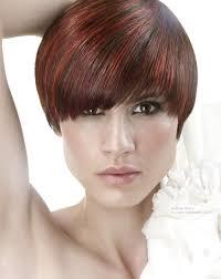 kankalone hair colors mahogany mahogany hair cut short and just over the ears