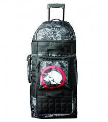 metal mulisha black friday metal mulisha red eye gear bag water resistant trolley rolling