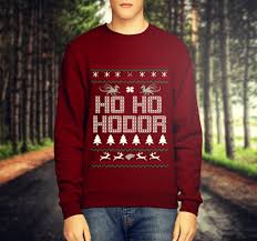 ho ho hodor funny ugly christmas sweater game of thrones tv show