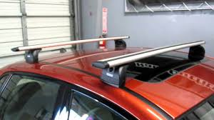Ors Roof Racks by Subaru Impreza Sedan With Thule 460r Podium Aeroblade Roof Rack By