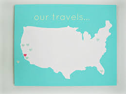 Visited States Map 106 Best Travel Wall Ideas Images On Pinterest Wall Ideas