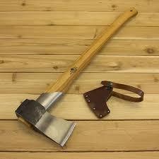 Handmade Swedish Axe - large splitting axe by grã nsfors bruk â garden tool company