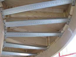 Radius Stairs by Curved Stairs Drywall Architect Age