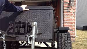 diy offroad camper off road box trailer build youtube