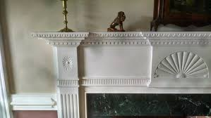 buy a handmade handcarved federal fireplace mantle made to order