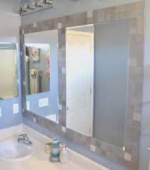 bathroom amazing how to frame existing bathroom mirror home