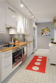 Track Light In Kitchen Kitchen Modern Kitchen Track Lighting With Chrome Track And White
