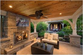 Outdoor Kitchen Pavilion Designs by Outdoor Stone Fireplaces Lanterns Outdoor Tv Pavilion Recessed