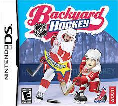 amazon com backyard hockey nintendo ds by humongous