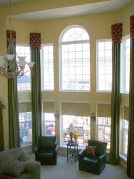Curtains For Large Picture Window Sheer White Curtains Window Treatments For Large Windows The