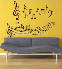 Music Note Home Decor Aliexpress Com Buy Wonderful Music Notes Wall Art Stickers