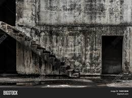 halloween background texture stair go to hell abandoned building ghost living place darkness