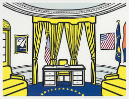 The Oval Roy Lichtenstein The Oval Office 1992 Available For Sale Artsy