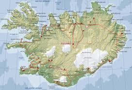 Iceland On Map Iceland