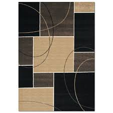 American Furniture Rugs Casa Dark Circles U0026 Squares Area Rugs Area Rug 8 U0027 X 10