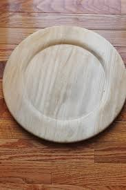 wedding plates for sale sale wood stained charger plate plates chargers rustic wedding