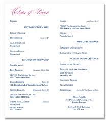 wedding program catholic mass the reason why everyone catholic wedding