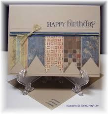 masculine birthday stampin u0027 up suo handmade card curly cute