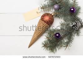 christmas tree ice cream stock images royalty free images