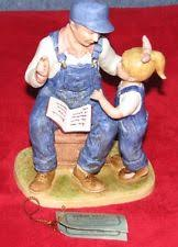 Home Interior Denim Days Figurines by Homco Figurines Ebay
