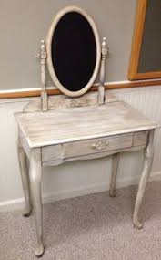 Antique Looking Vanity Antique Vanity Shabby Chic White Distressed Cottage Make Up
