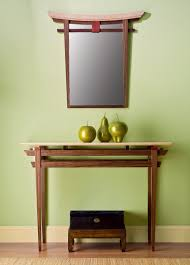 Maple Wood Furniture Torii Mirror And Table By Bayley Wharton Wood Furniture Artful
