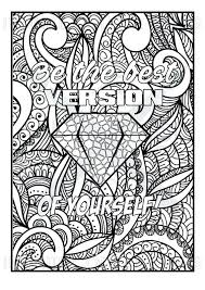 coloring page quotes motivational coloring pages inspirational quotes coloring pages