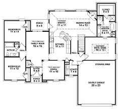 4 bedroom 3 5 bath house plans homely inpiration 5 bedroom house plans 1 bedroom ideas